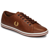 Skor Herr Sneakers Fred Perry KINGSTON LEATHER Brun