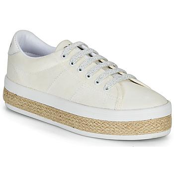 Skor Dam Sneakers No Name MALIBU SNEAKER Vit
