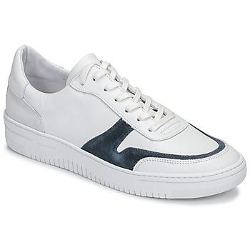 Skor Herr Sneakers Schmoove EVOC-SNEAKER Vit / Blå