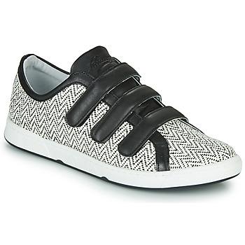 Skor Dam Sneakers Pataugas JULIETTE Svart / Vit