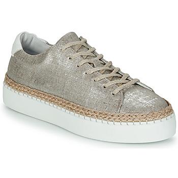 Skor Dam Sneakers Pataugas SELLA/T Silver