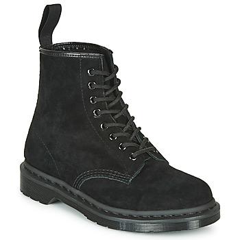 Skor Boots Dr Martens 1460 MONO SOFT BUCK Svart
