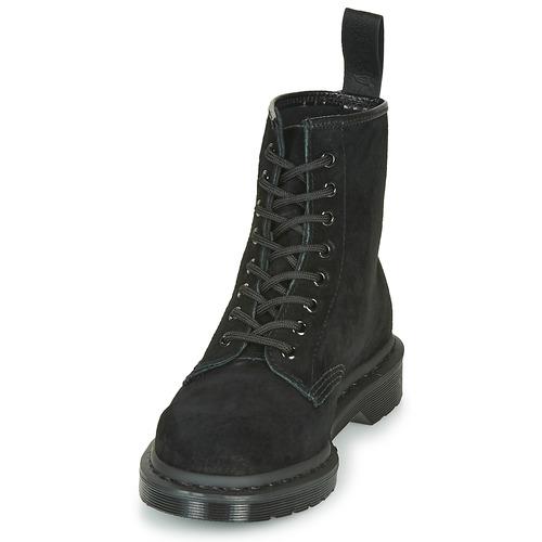 1460 MONO SOFT BUCK  Dr Martens  boots    svart