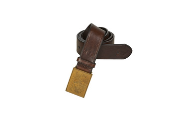 Accessoarer Herr Bälten Polo Ralph Lauren PLO HRTG BLT-CASUAL-SMOOTH LEATHER Brun