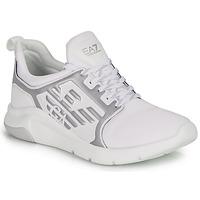 Skor Sneakers Emporio Armani EA7 RACER REFLEX CC Vit / Silverfärgad