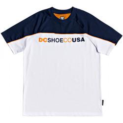 textil Herr T-shirts DC Shoes Brookledge ss Vit