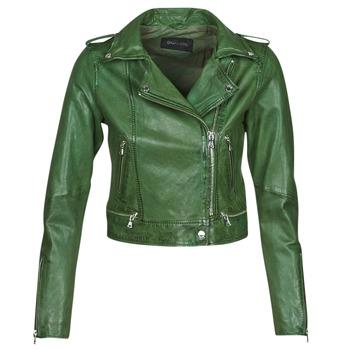 textil Dam Skinnjackor & Jackor i fuskläder Oakwood KYOTO Grön