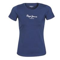 textil Dam T-shirts Pepe jeans NEW VIRGINIA Marin