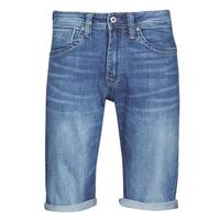 textil Herr Shorts / Bermudas Pepe jeans CASH Blå