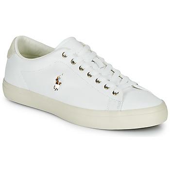 Skor Herr Sneakers Polo Ralph Lauren LONGWOOD-SNEAKERS-VULC Vit