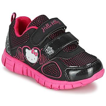 Skor Flick Sneakers Hello Kitty BASEMO PHYL Svart