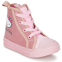 Skor Flick Höga sneakers Hello Kitty TANSIOUR Rosa