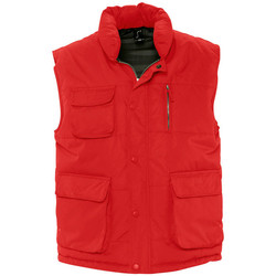 textil Jackor Sols VIPER QUALITY WORK Rojo