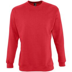 textil Sweatshirts Sols NEW SUPREME COLORS DAY Rojo