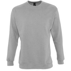 textil Sweatshirts Sols NEW SUPREME COLORS DAY Gris