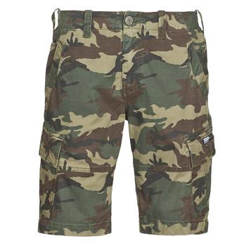 textil Herr Shorts / Bermudas Superdry CORE CARGO SHORTS Grön