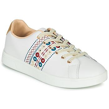 Skor Dam Sneakers Desigual COSMIC NEW EXOTIC Vit