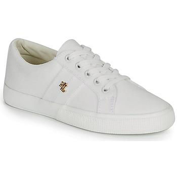 Skor Dam Sneakers Lauren Ralph Lauren JANSON II Vit
