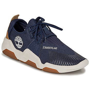 Skor Herr Sneakers Timberland Earth Rally Flexiknit Ox Blå