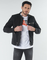 textil Herr Vindjackor Diesel J-GLORY Svart