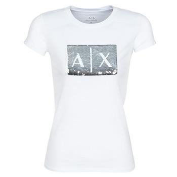 textil Dam T-shirts Armani Exchange HANEL Vit