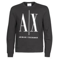 textil Herr Sweatshirts Armani Exchange HELIX Svart