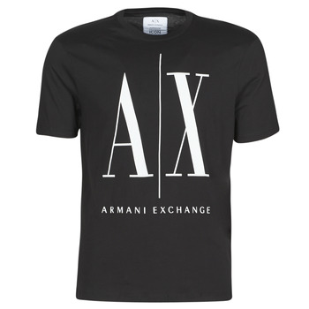 textil Herr T-shirts Armani Exchange HULO Svart