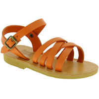 Skor Flickor Sandaler Attica Sandals HEBE CALF ORANGE arancio