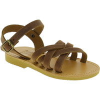 Skor Flickor Sandaler Attica Sandals HEBE NUBUK DK BROWN Marrone medio