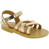 Skor Flickor Sandaler Attica Sandals HEBE CALF GOLD PINK Oro rosa
