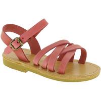 Skor Flickor Sandaler Attica Sandals HEBE NUBUK PINK Rosa chiaro