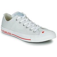 Skor Dam Sneakers Converse CHUCK TAYLOR ALL STAR LOVE CANVAS - OX Vit / Röd
