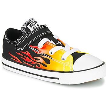 Skor Flickor Sneakers Converse CHUCK TAYLOR ALL STAR 1V - OX Svart / Gul