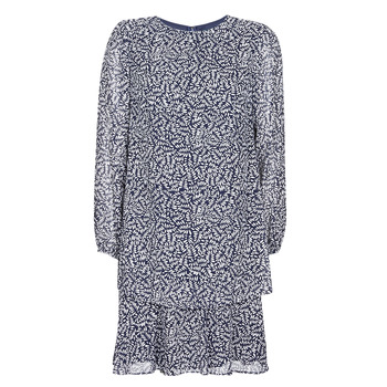 textil Dam Korta klänningar Lauren Ralph Lauren Alois Marin / Vit