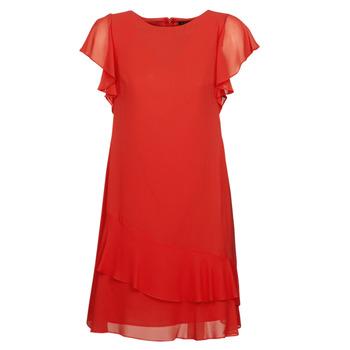 textil Dam Korta klänningar Lauren Ralph Lauren Arolde Röd