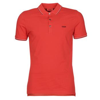 textil Herr Kortärmade pikétröjor HUGO DINOSO 202 Röd