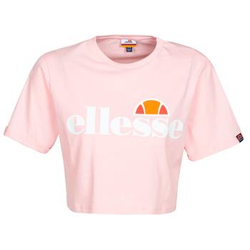 textil Dam T-shirts Ellesse ALBERTA Rosa