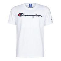 textil Herr T-shirts Champion 214194 Vit
