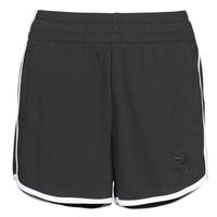 textil Dam Shorts / Bermudas Converse TWISTED VARSITY SHORT Svart