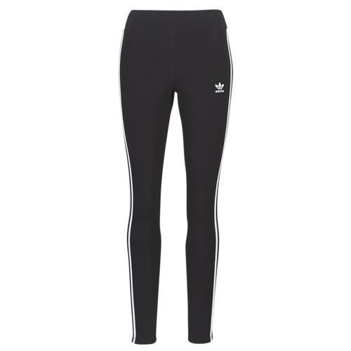 textil Dam Leggings adidas Originals 3 STR TIGHT Svart
