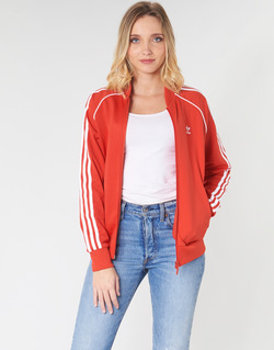 textil Dam Sweatjackets adidas Originals SS TT Röd / Frodig