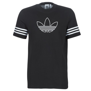 textil Herr T-shirts adidas Originals OUTLINE TEE Svart