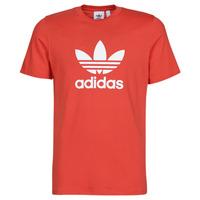 textil Herr T-shirts adidas Originals TREFOIL T-SHIRT Röd / Frodig
