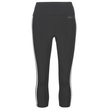 textil Dam Leggings adidas Performance D2M 3S 34 TIG Svart