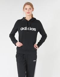 textil Dam Sweatshirts adidas Performance E LIN OH HD Svart
