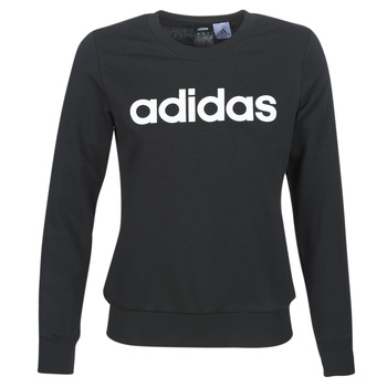 textil Dam Sweatshirts adidas Performance E LIN SWEAT Svart