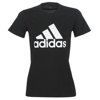 textil Dam T-shirts adidas Performance BOS CO TEE Svart