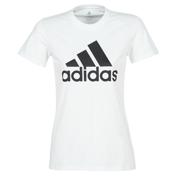 textil Dam T-shirts adidas Performance BOS CO TEE Vit