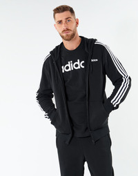 textil Herr Sweatshirts adidas Performance E 3S FZ FT Svart