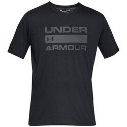 textil Herr T-shirts Under Armour Team Issue Wordmark Svarta